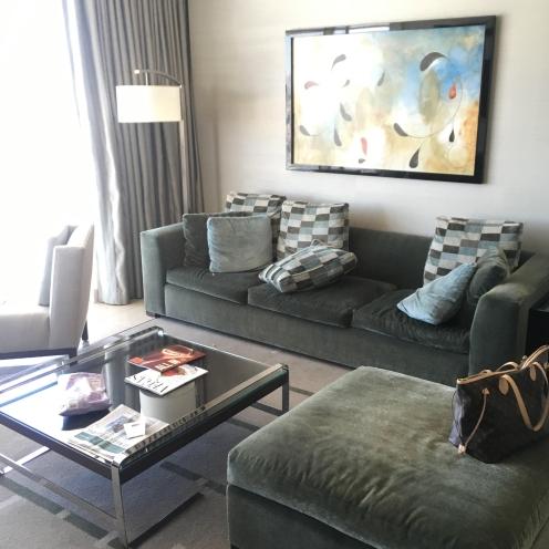 Aria Penthouse living room