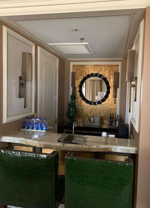 Bellagio wet bar
