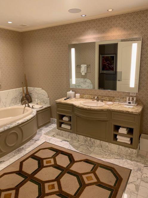 "Bellagio ""Her"" bathroom"