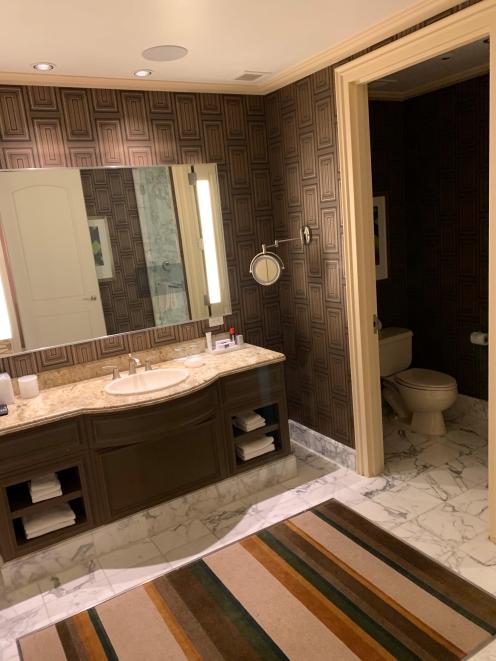 """Bellagio """"His"""" bathroom"""
