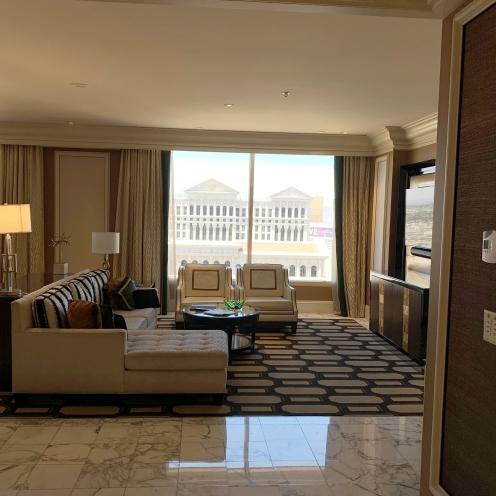 Bellagio Penthouse living room